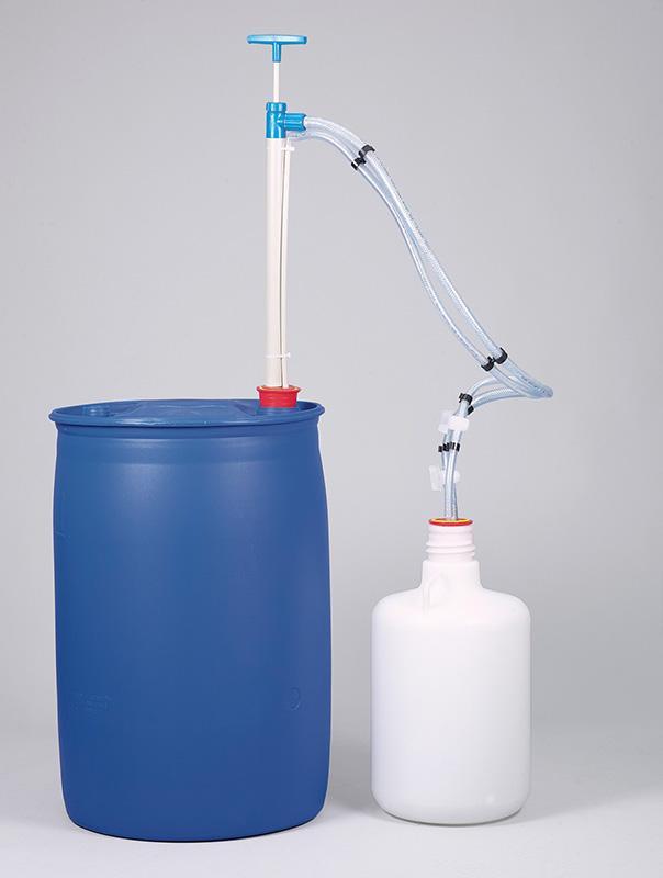 Fasspumpe Gasdicht PP - Handpumpe, geruchsneutrales Fördern von Flüssigkeiten