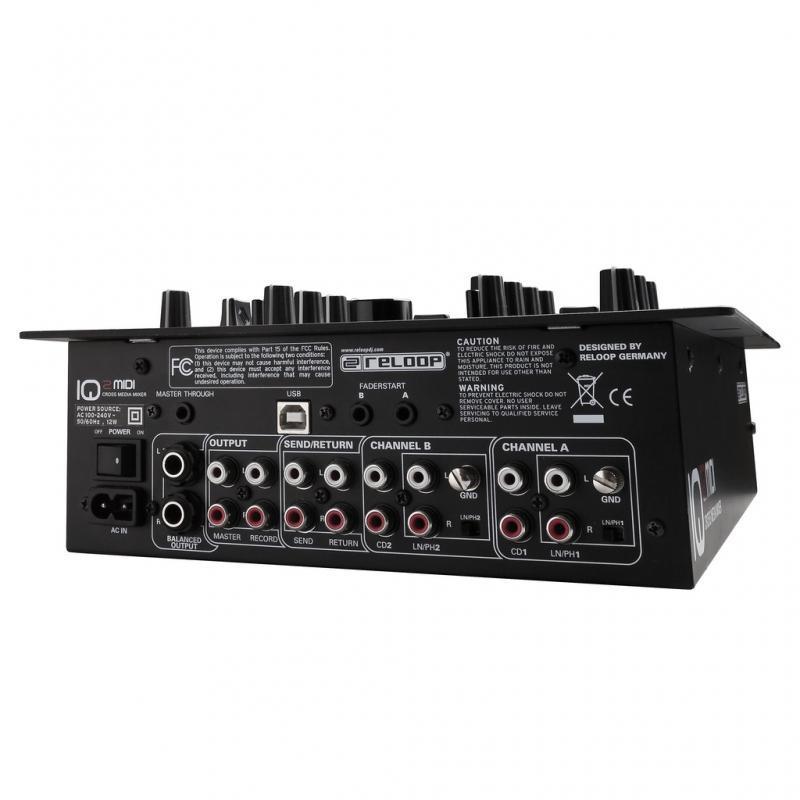 DJ-Mixer - Reloop IQ2 MIDI