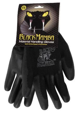 Gants Black Mamba en nylon & polyuréthane
