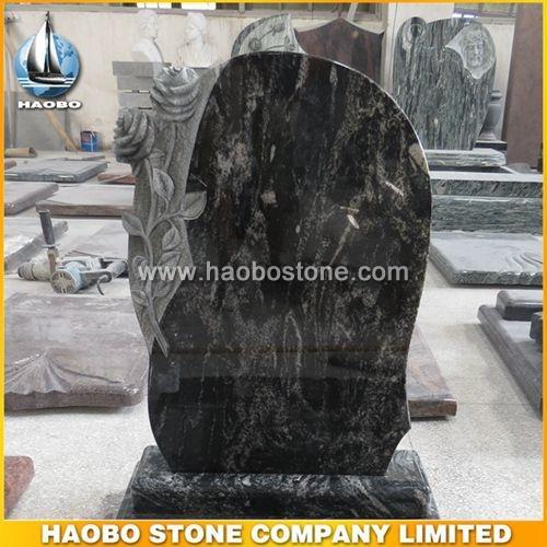 Ganges Black Granite Monument HBMHU017 - Hungary Style
