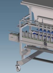 machines - afvul- en verpakkingsmachines - Afvullijn voor glasverpakkingen