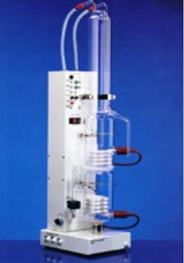 quartz glass / Destamat - Bi-distillation apparatus Bi 18E made of quartz glass