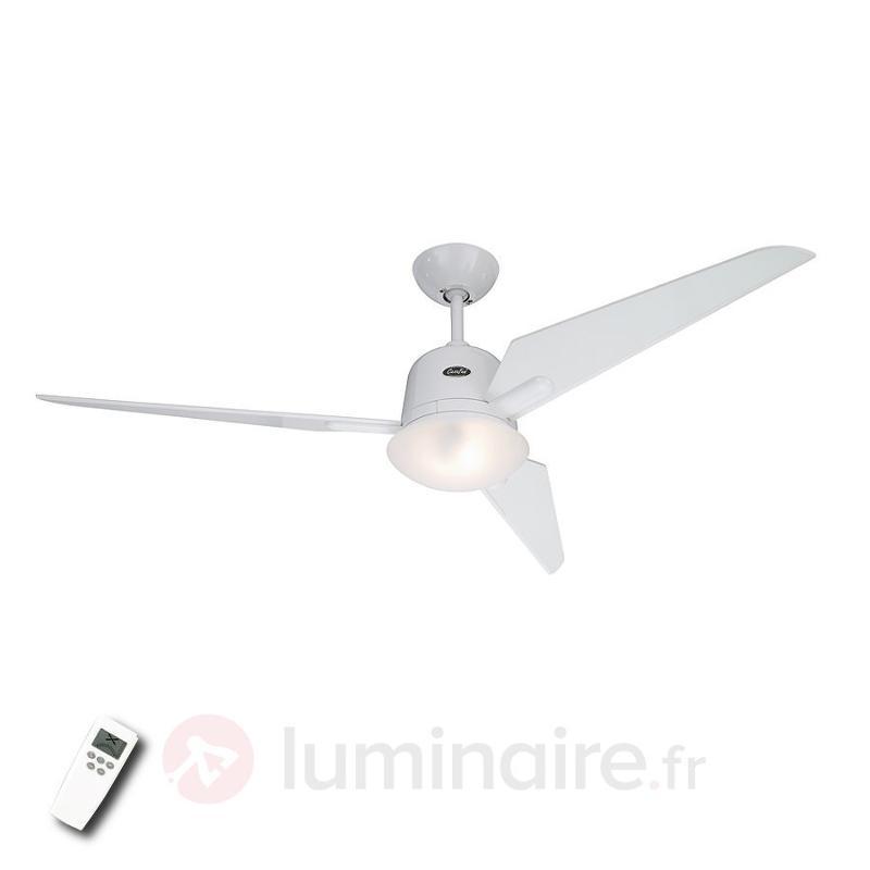 Ventilateur de plafond Eco Aviatos blanc - Ventilateurs de plafond modernes