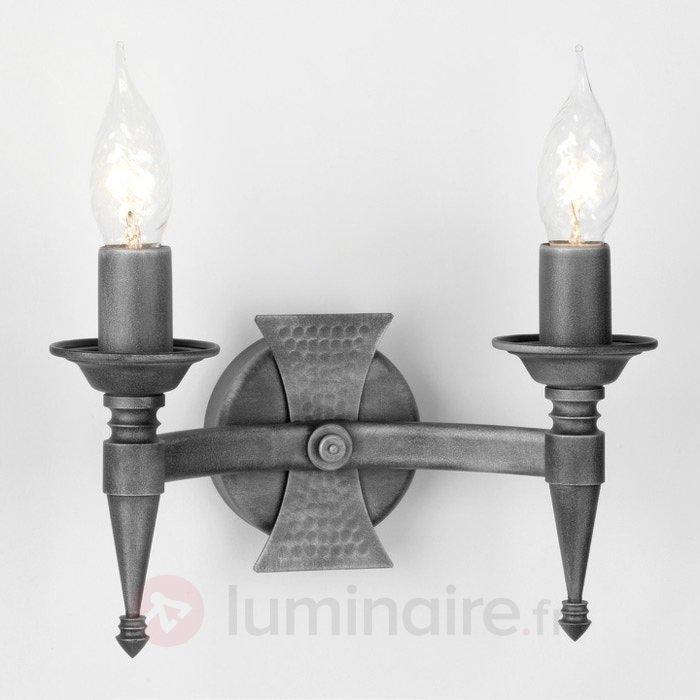 Applique à 2 lampes SAXON - Appliques classiques, antiques