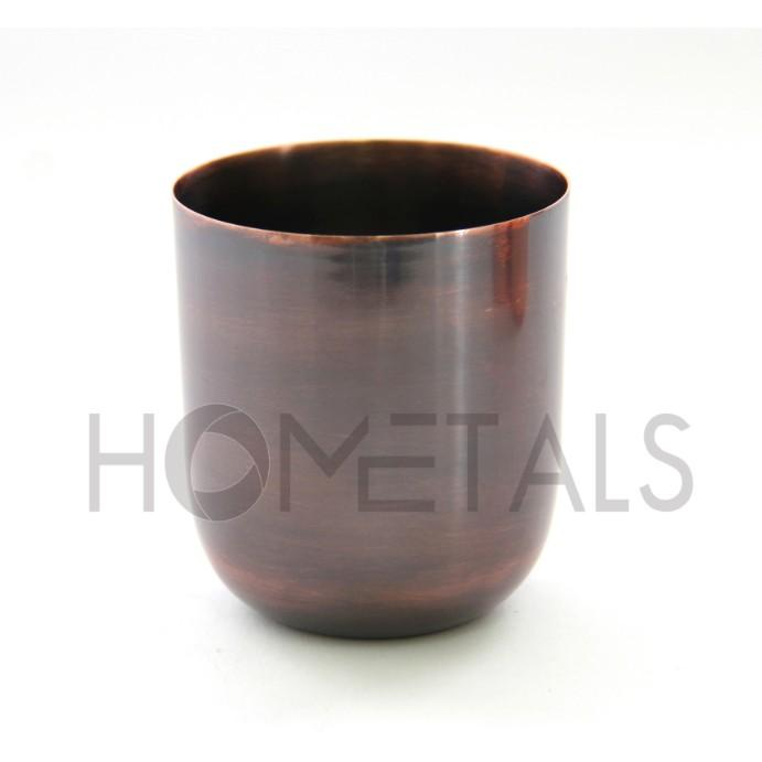 Copper antique candle containers for soy wax - Copper antique candle jars