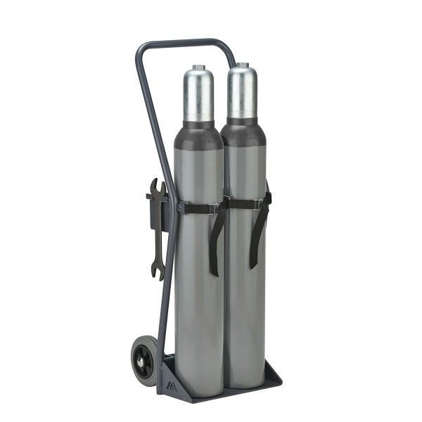 Gasflaschenkarre / Gasflaschen-Wagen GFW2 für den... - Gefahrstoffcontainer