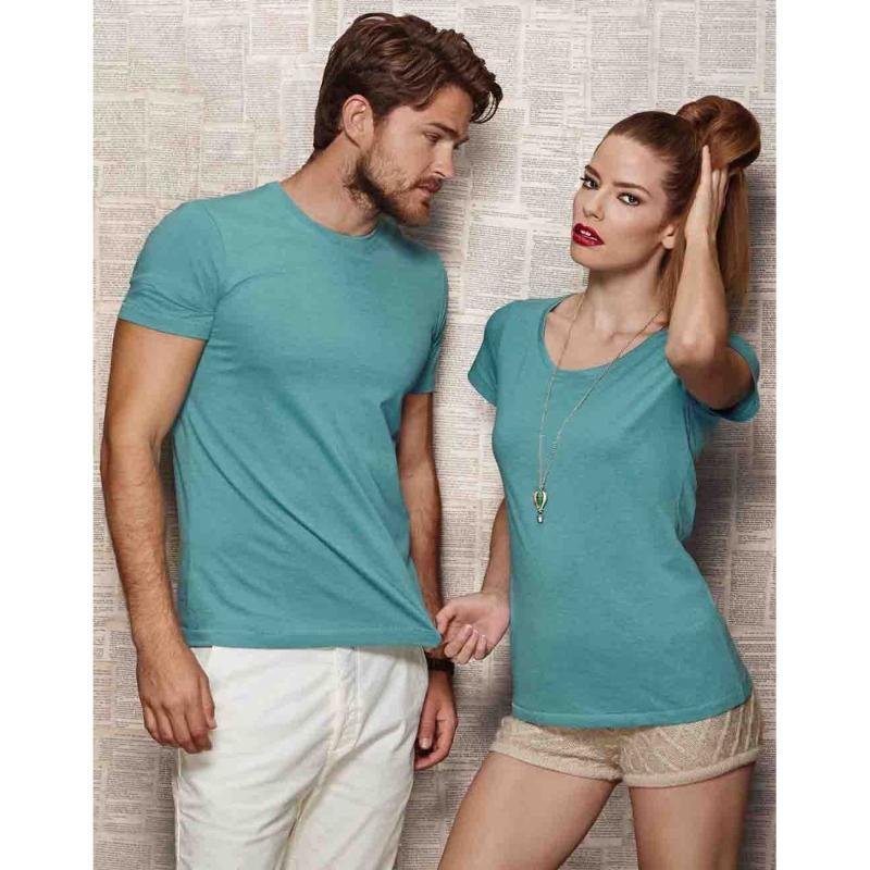 Tee-shirt femme ras de cou Lisa - Manches courtes