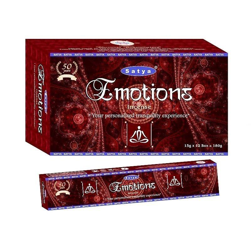 Caja Varas Emotions Satya 180gr - Inciensos Satya