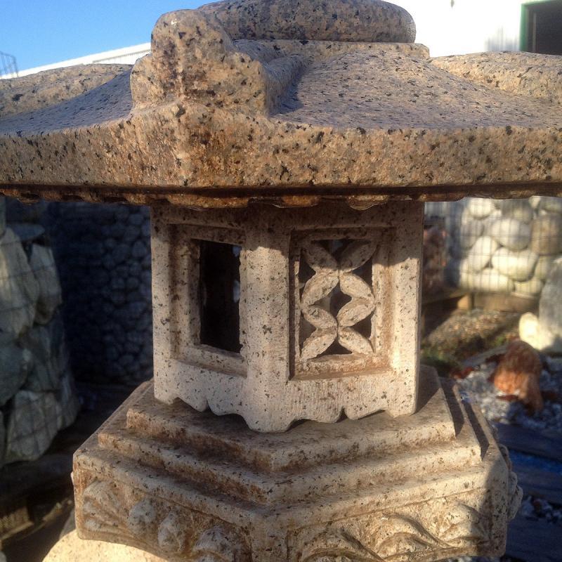 Lanterne - Pagode Renkhei haut 80 cm