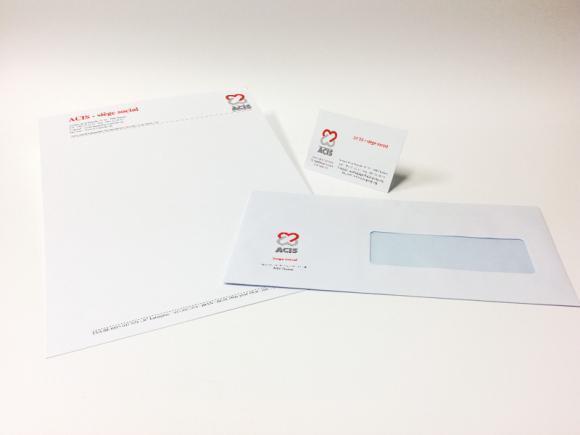 Entêtes de lettre, cartes de visite, enveloppes - Impression offset et digitale