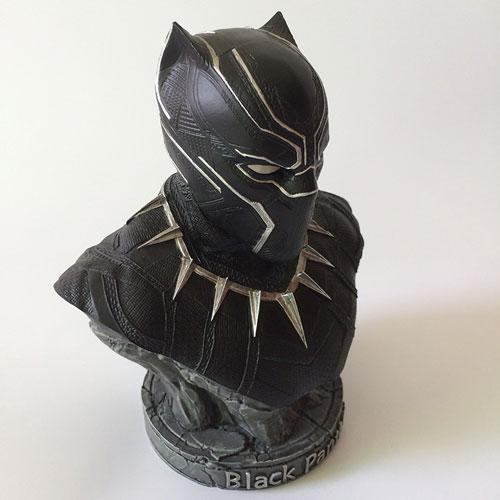 7 inches custom polyresin bust 18cm black panther figurine - Figures