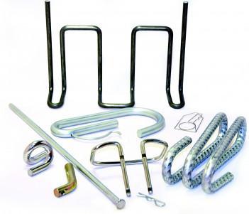cintrage de fil métallique sur tous types de supports - fils métalliques