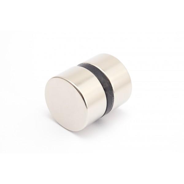 Neodymium disc magnet 30x15mm, N42, Ni-Cu-Ni, Nickel coated - Disc
