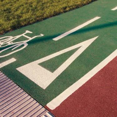 Peinture marquage au sol extérieure - Color'bitume®