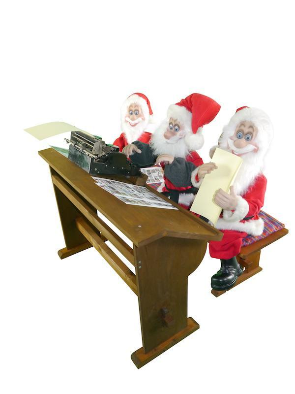The small Santa Claus Scene 1: Order acceptance / Office - null