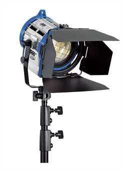 Halogen spotlights - ARRI Junior 150 blue/silver