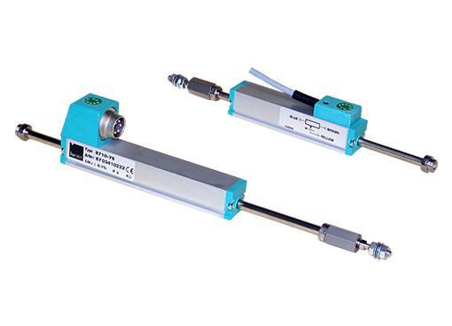 线性位置传感器 - 8710, 8711 - 用于直接和精确测量机械位移,横向无力驱动,寿命非常长,高位移速度
