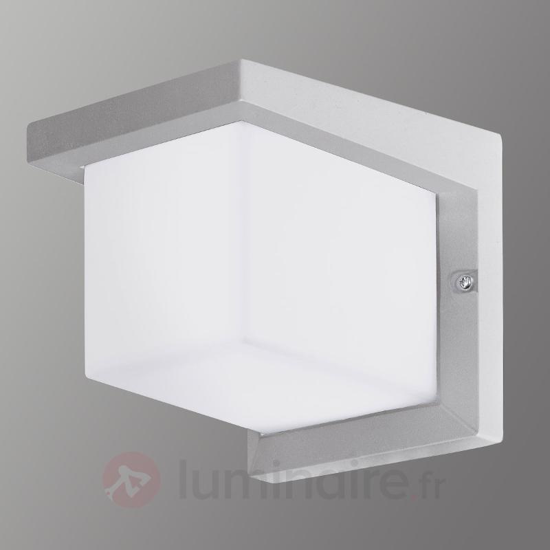 Desella - applique LED argenté pr extérieur - Appliques d'extérieur LED