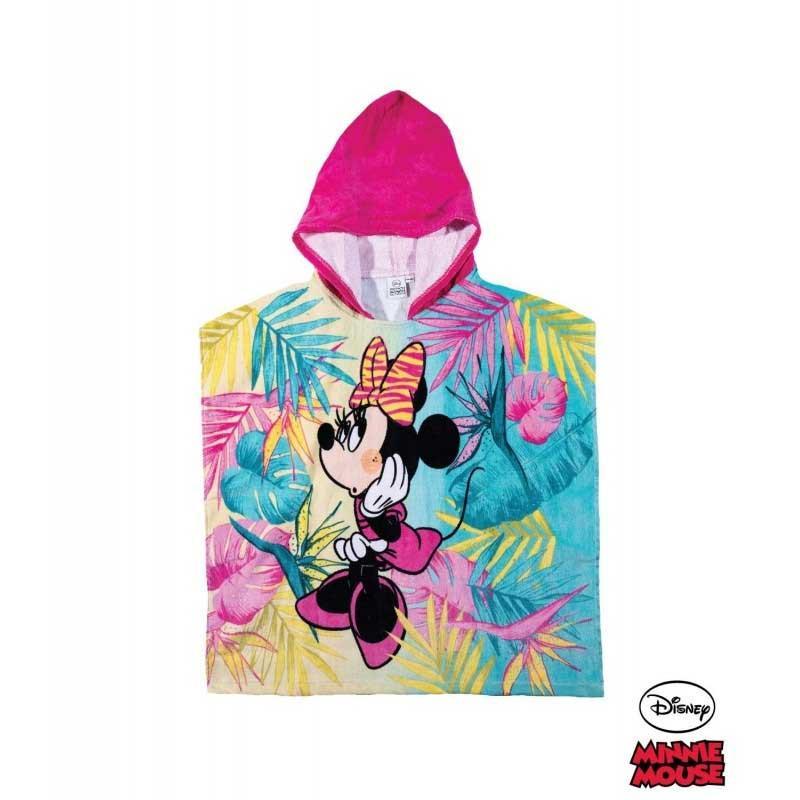 Disney Minnie Toalla poncho con capucha