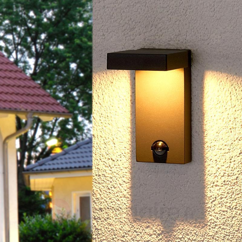 Applique extérieure Toska LED avec détecteur - Appliques d'extérieur avec détecteur