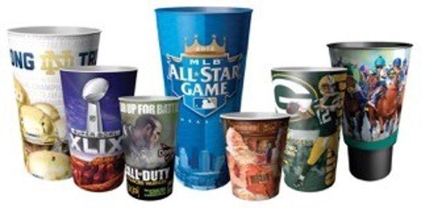 Lenticular Drinkware Cups