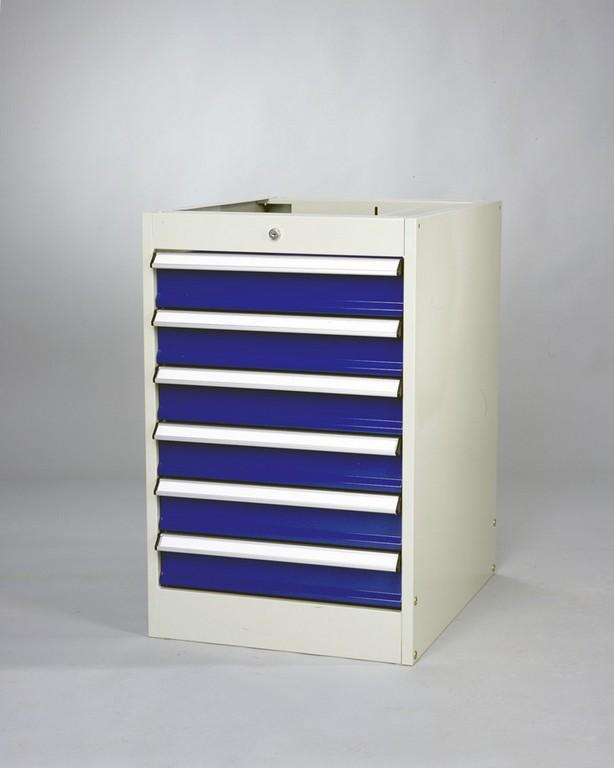 Drawer unit with 6 drawers - null
