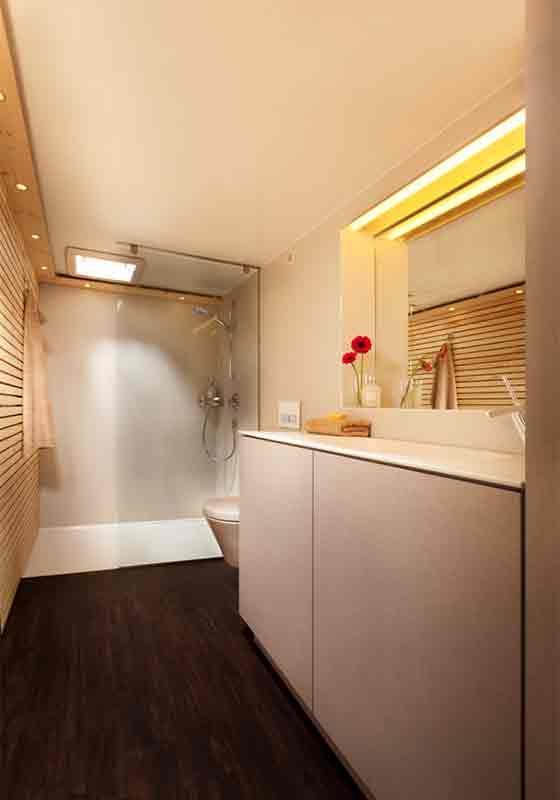 Mobiles Badezimmer 2800