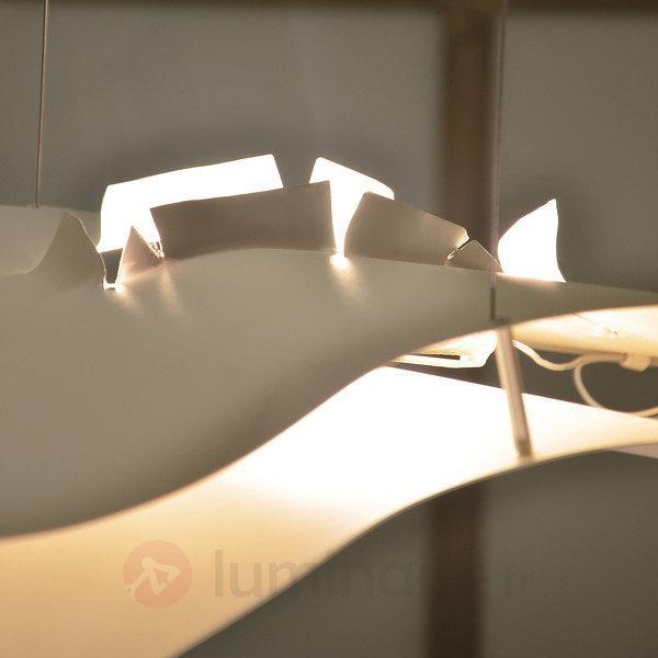 Suspension noble A Tempo Perso blanc - Suspensions design