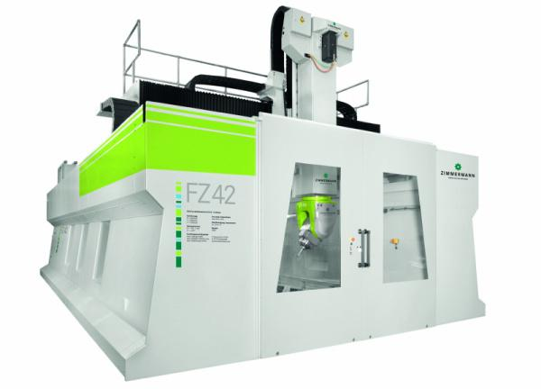 Portal Milling Machine FZ 42 - 5 axis - Portal milling machine FZ42 for machining steel, cast iron and heavy materials