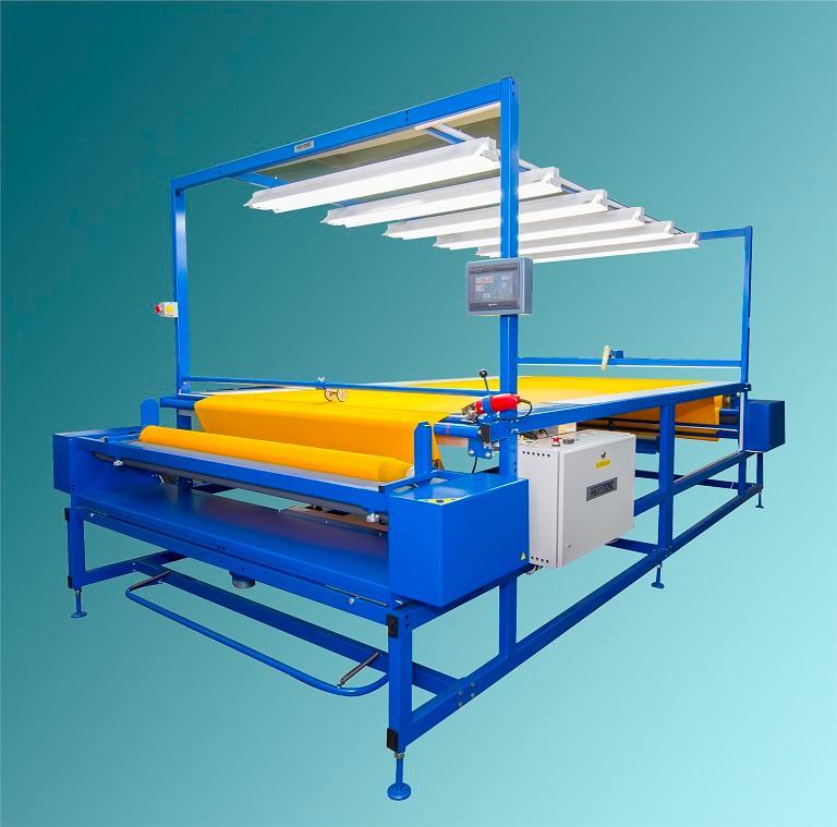 промерочный стол Роллтекс B01.31 - Машина работает с рулонами диаметром до 40 см и весом до 60кг