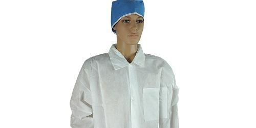 Manteau de laboratoire blanc -