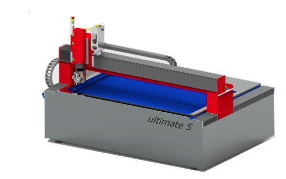 Härtel ultimate 2D / 3D - Ein erschwinglicher Einstieg ins Wasserstrahl schneiden.