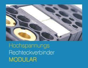 Hochspannungsstecker modular