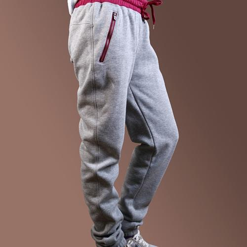 women custom jogger pants with zipper pocket - Anti-Pilling, Anti-Shrink, Anti-Wrinkle, Breathable, Eco-Friendly, Plus Size