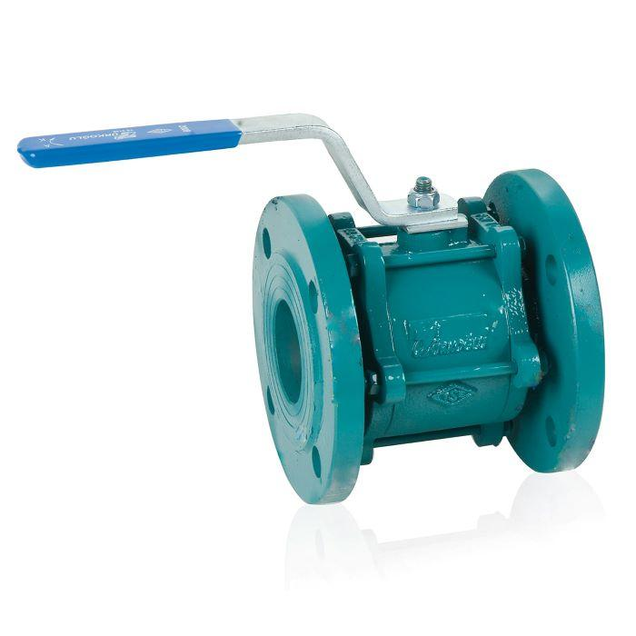 Ball Valve - Flanged / 2-Piece / From DN40 to DN200