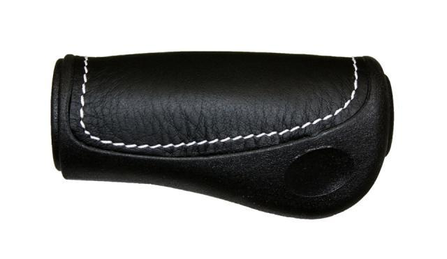 Grips - Grip no. 438 Ellipsis with leather inlay