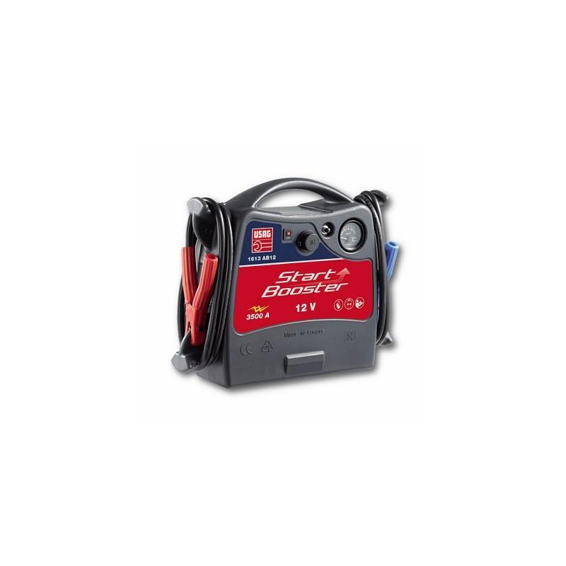 USAG 1613 AB12 Démarreur portable 12V 3500A - Démarreur - Booster - Chargeur de batterie