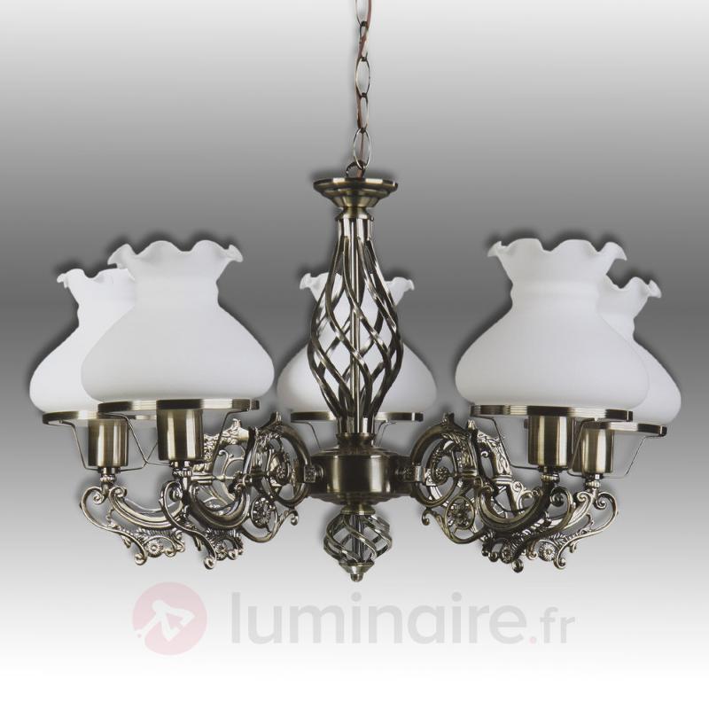 Lustre Branda à cinq lampes - Lustres classiques,antiques