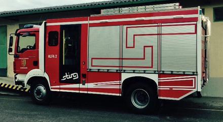 Aufbau von Feuerwehrfahrzeugen - null