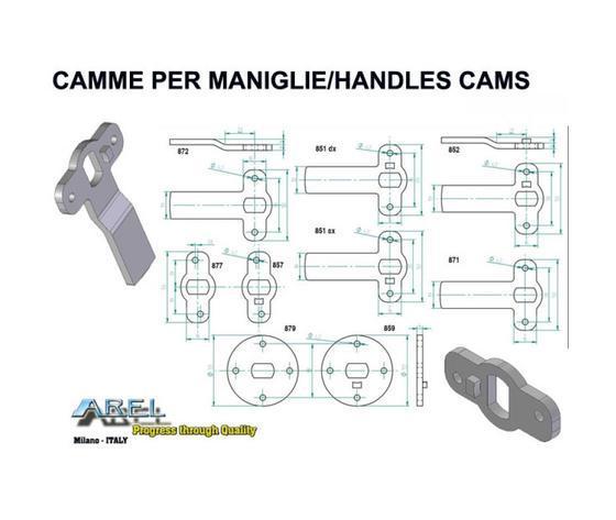Accessori - CAMME per Maniglie