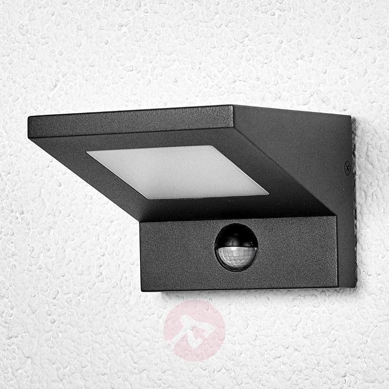 LED outdoor wall light Levvon with motion detector - Outdoor Wall Lights