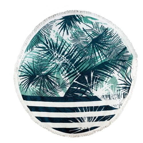 Serviette de plage ronde -