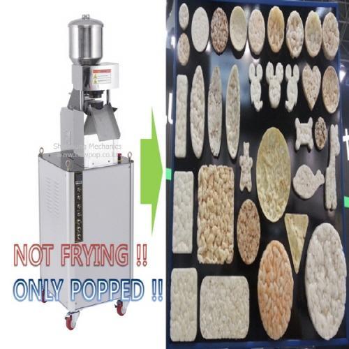 galletas de maíz máquina (Máquina de la torta del arroz) - Fabricante de Corea