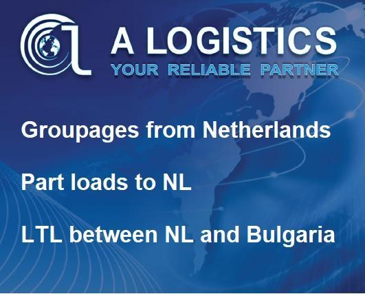 Groupages Bulgaria NL, Part loads NLto Bulgaria - Transport NL to Bulgaria, Transport Bulgaria to NL