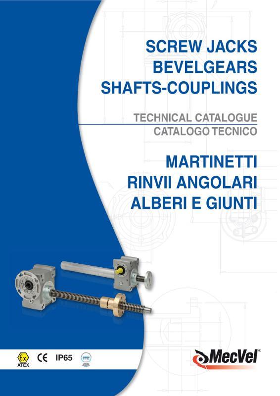 Martinetti meccanici e Gruppi di Manovra - Moto lineare e rotativo