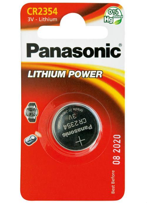 Batterie al litio a bottone CR2354 - CR-2354EL/1BP | Blister da 1 microbatteria specialistica Panasonic