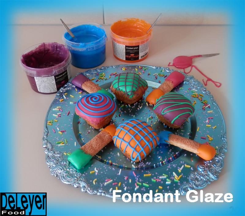 Colored Liquid Fondant Glaze - null