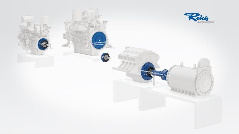 Sistema adattivo di accoppiamento TOK - Sistema adattivo di aggancio per giunti TOK per le prove sui motori