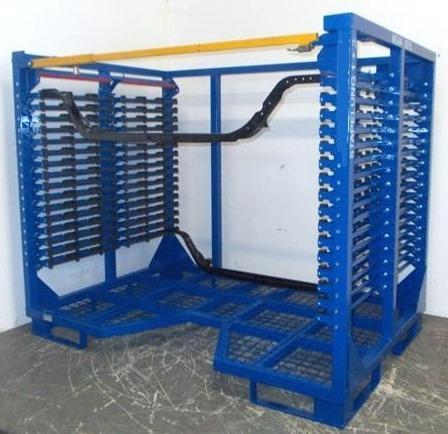 Ladungsträger für Automotive - Sondergestell für Aufnahme von geformten Blechleisten