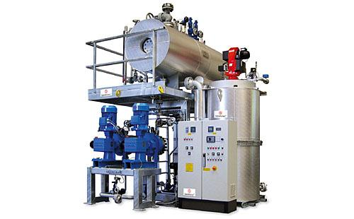 High Pressure Steam Boiler in open steam/condensate cycle - The basis for the High Pressure Steam Boiler in open steam/condensate cycle